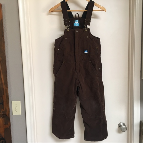 Berne Big Boys Insulated Double Knee Overalls